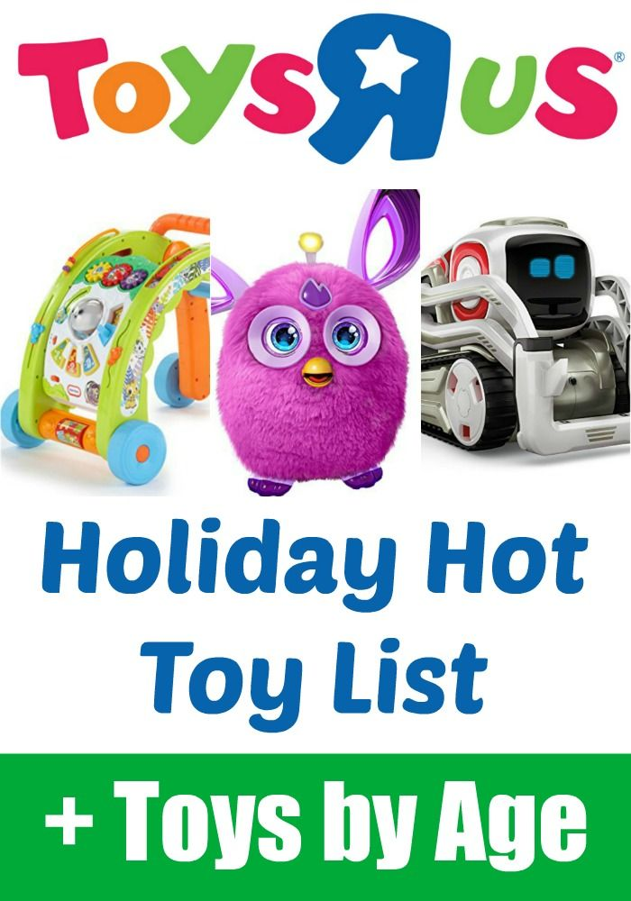 toys r us holiday hot toys list plus the entire toy list broken down by