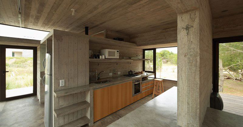 Carassale House by BAK Architects Concrete, Wooden ceilings and - fresh blueprint awards winners