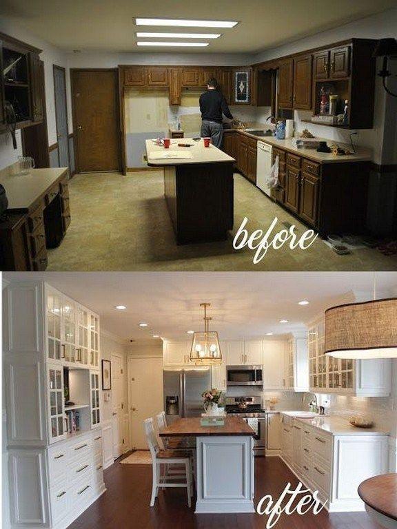 Amazing Farmhouse Kitchen Remodel Designs Ideas In 2019 00089 Kitchen Remodeling Projects Kitchen Remodel Small Kitchen Remodel Design