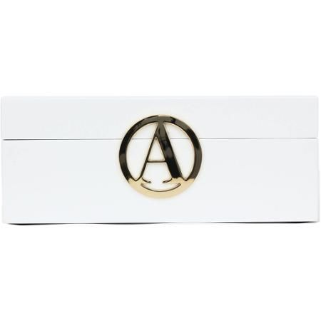 Jewelry Gift Boxes Walmart Endearing Gold Single Initial Jewelry Box White  Walmart  Gift Ideas Decorating Design