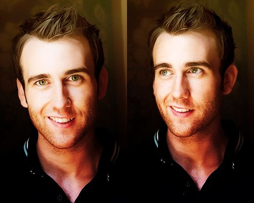 Matt Lewis - he should never stop smiling There's just something about a crooked smile