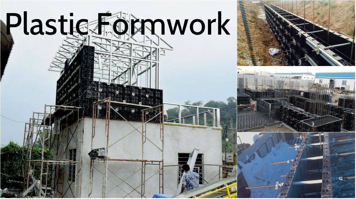 The Advantages and the Reasons Why are Plastic Formwork Used More