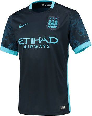 Manchester City 15 16 Away Kit Released Manchester City Soccer Jersey Soccer Shirts
