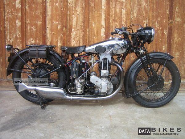 Ariel 500 1930 Classic Motorcycles Bike Motorbikes