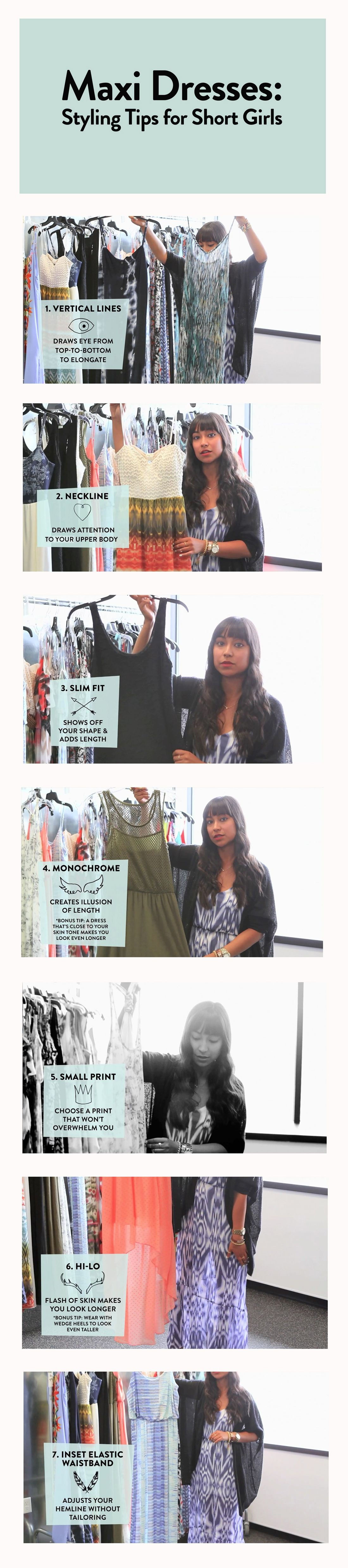 Maxi dresses styling tips for short girls petite rectangle