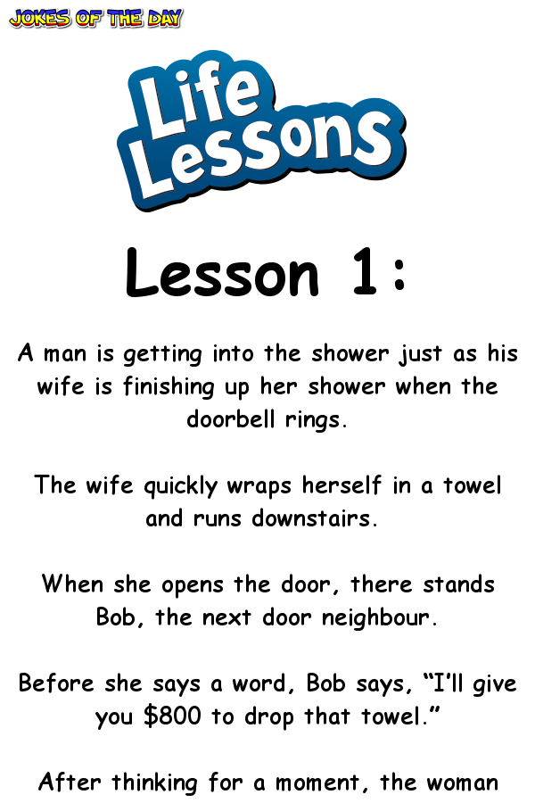 These 6 life lessons are funny, and also quite true ...