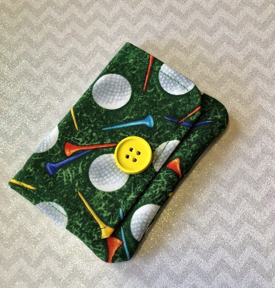 Handmade Wallet, Card Holder, Business Cards, Money Holder, Golf ...