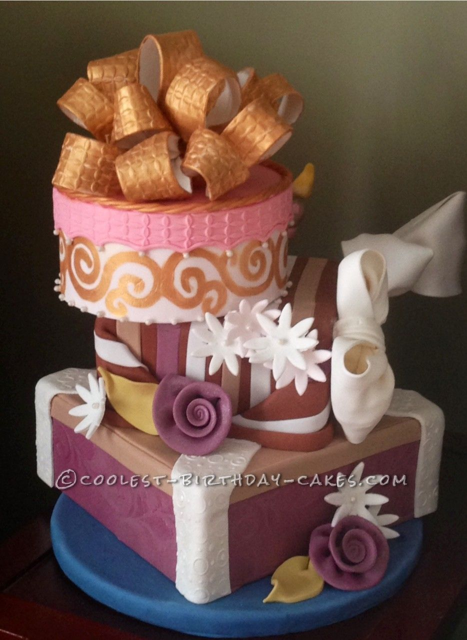 A Whimsical and Funky, Yet Classic Gift Boxes Birthday