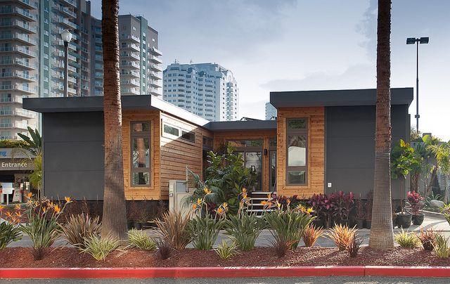 courtyard home modern prefab homes modular homes homes