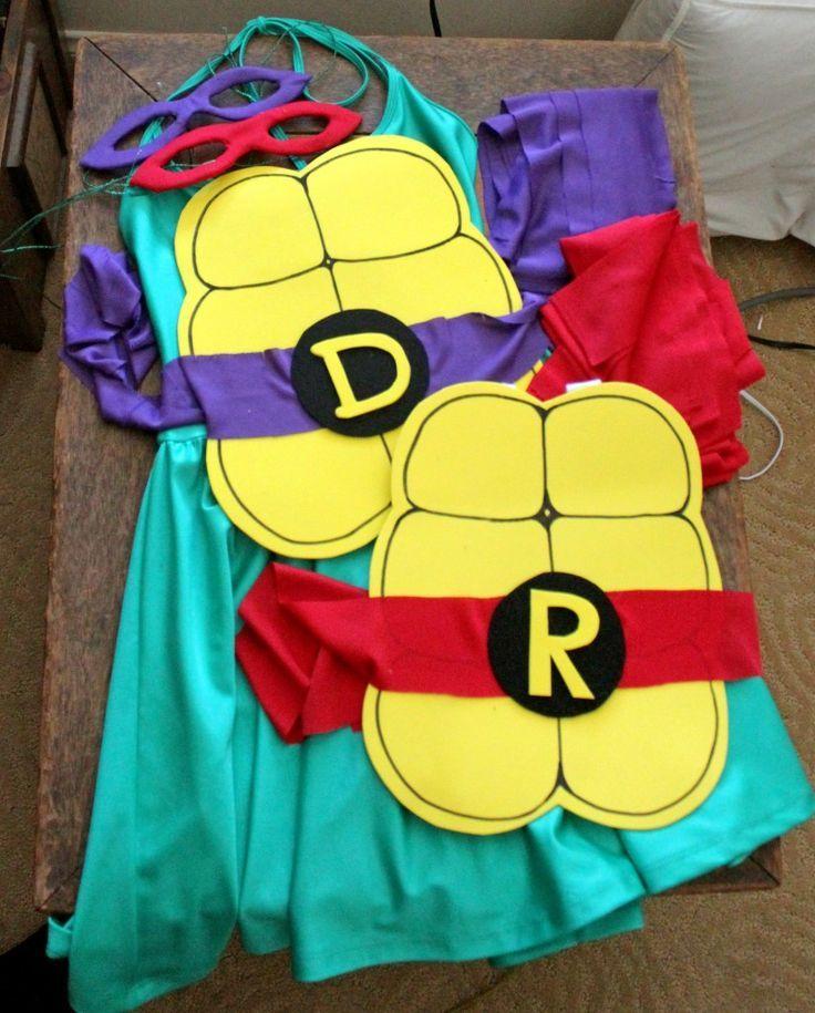 Diy quick ninja turtle costume homemade costumes pinterest diy quick ninja turtle costume solutioingenieria Gallery