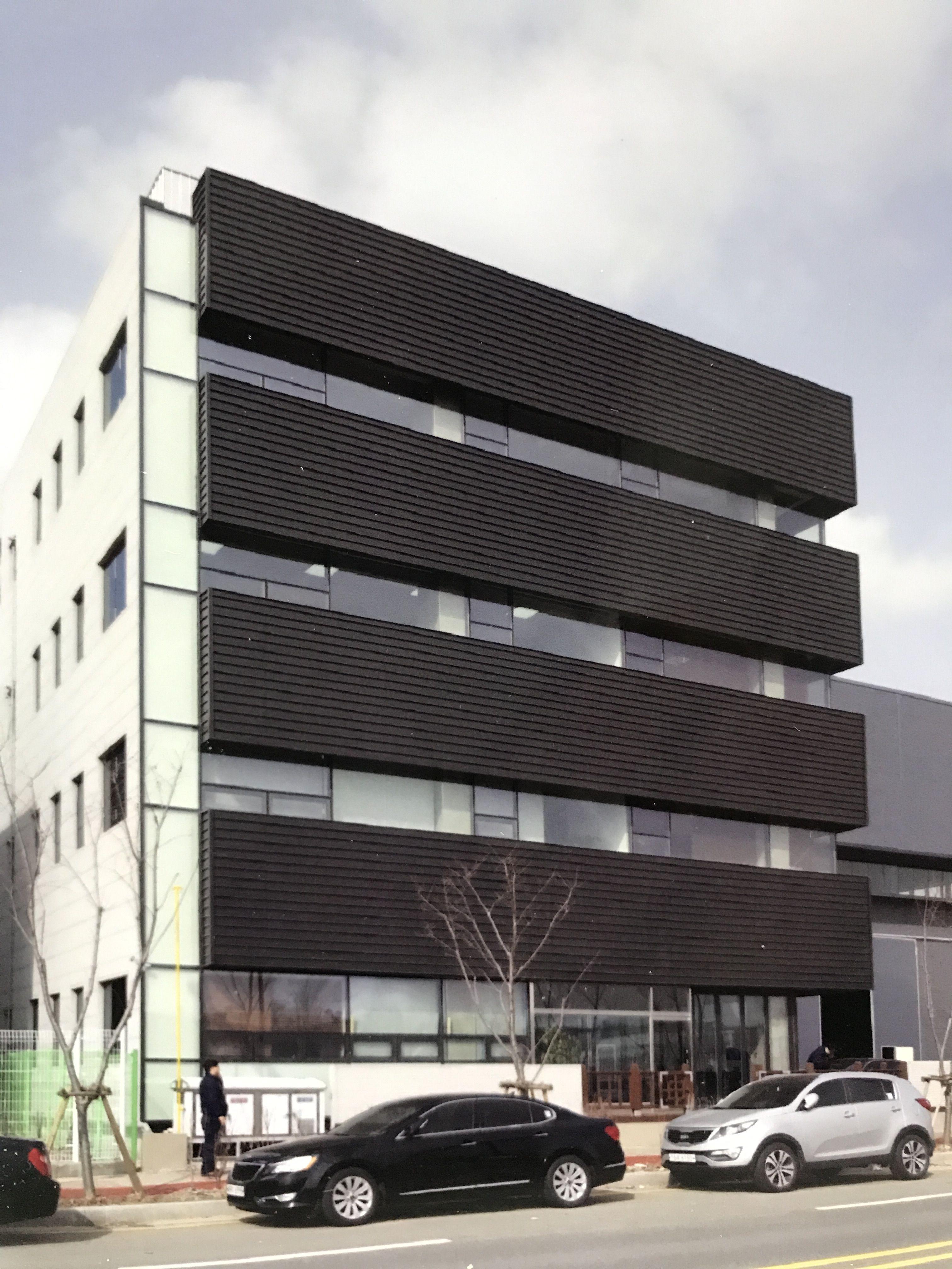 modern panel facade ribbon windows    Bulim   Building