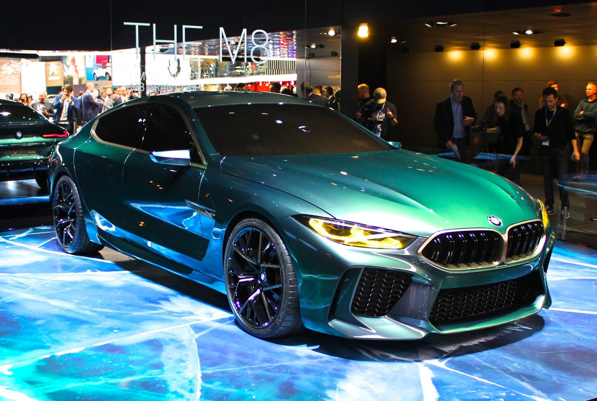 Bmw Debuts Concept M8 Gran Coupe To Tease The Future Bmw Coupe