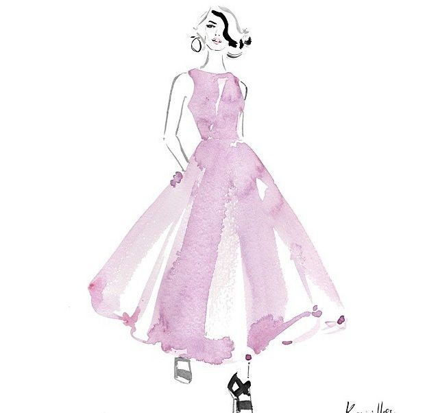 Hand-painted prom dress designing   Amazing Wedding   Pinterest ...