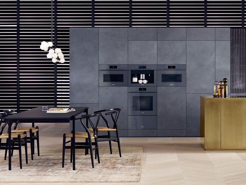 Super modern und funktional Die Küche von Miele Form und Farbe - küchen farben trend