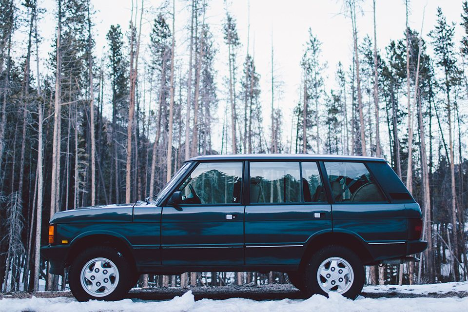 """FIRST SEEN IN UNCRATE MAGAZINE Often referred to as the """"Soft Dash"""" Range Rover Classic, this model was the first year with airbags, but the last year for the sought-after boxy design and circle headlights. The LWB stands for Long..."""