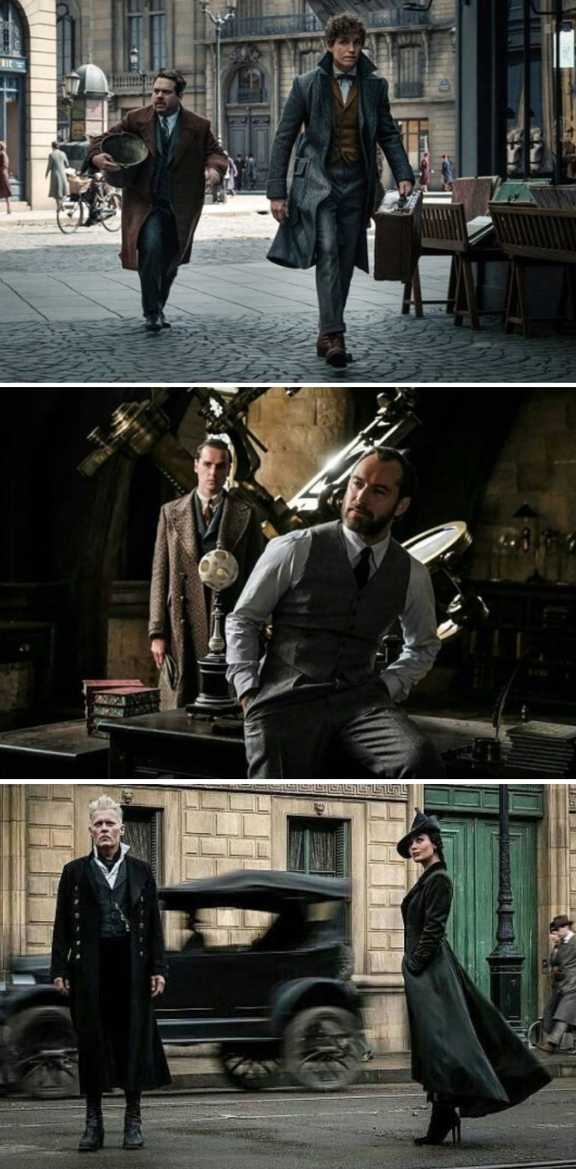 New Photos From Fantastic Beasts The Crimes Of Grindelwald
