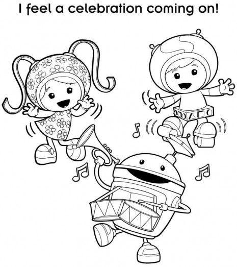 nick jr coloring pages - Nick Jr Coloring Book