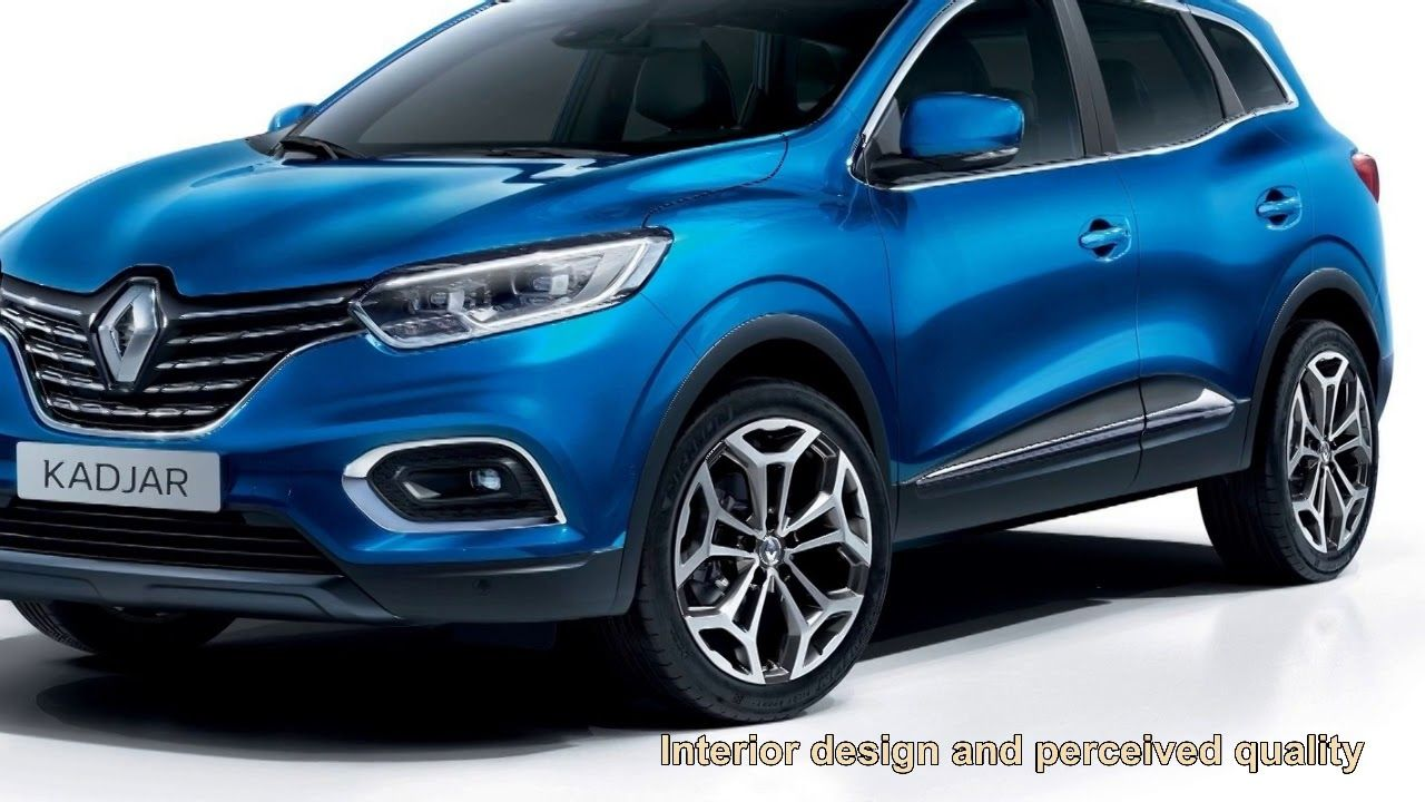2019 Renault Kadjar Interior Exterior design new Tube