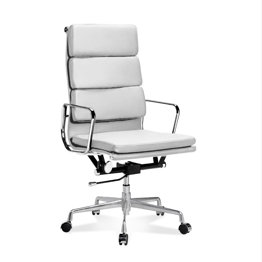 Eames Chair Weiß Eames #office Chair Http://www.modecor.de/hoher-eames-office-chair -mit-weichem-polster-in-weiss | Eames Office Chair, Office Chair, Chair