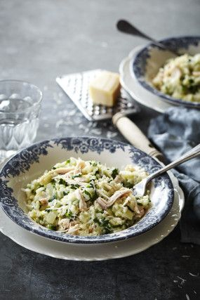 Image for Smoked Chicken, Spinach and Lemon Oven Baked Risotto