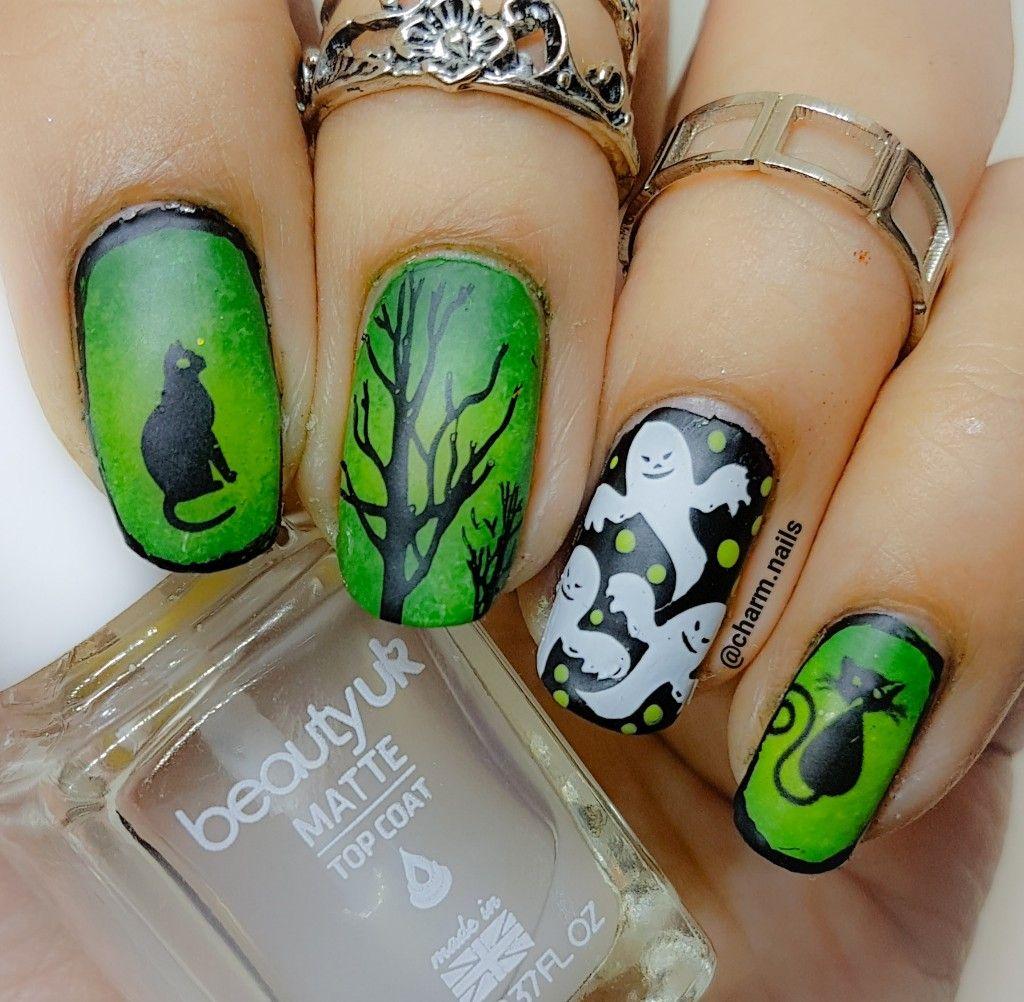 Pin de Priscilla\'s Jewelry en Halloween Nails | Pinterest | Diseños ...
