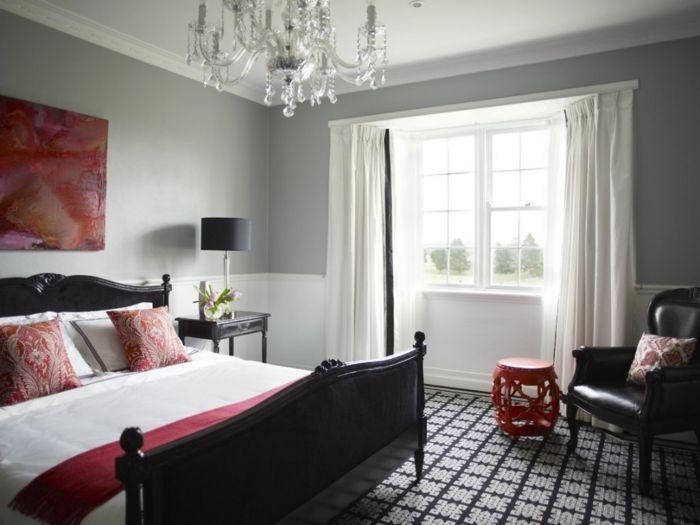 La chambre grise - 40 idées pour la déco - Archzine.fr | Room