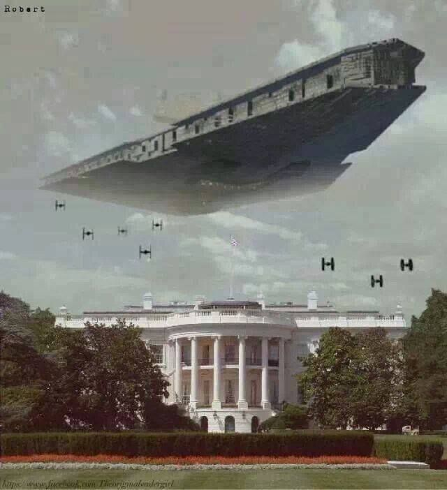 Darth Vader occupies White House