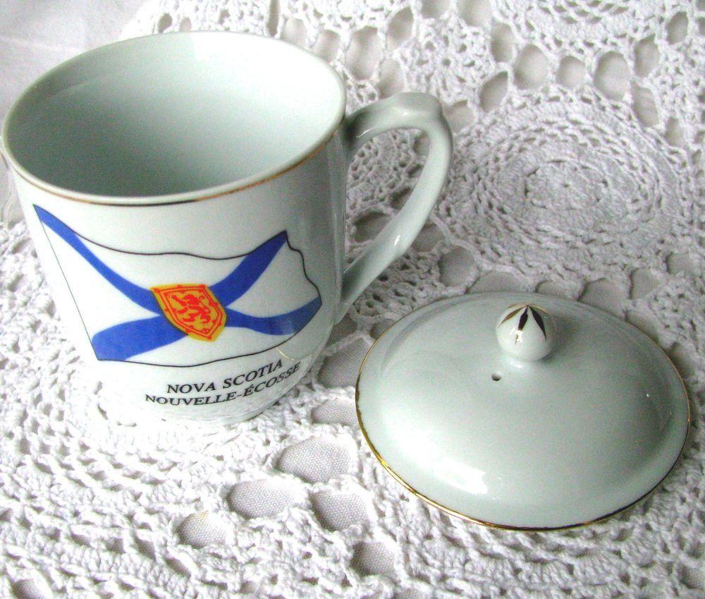 Nova Scotia Covered Coffee Mug, Canadian Collection