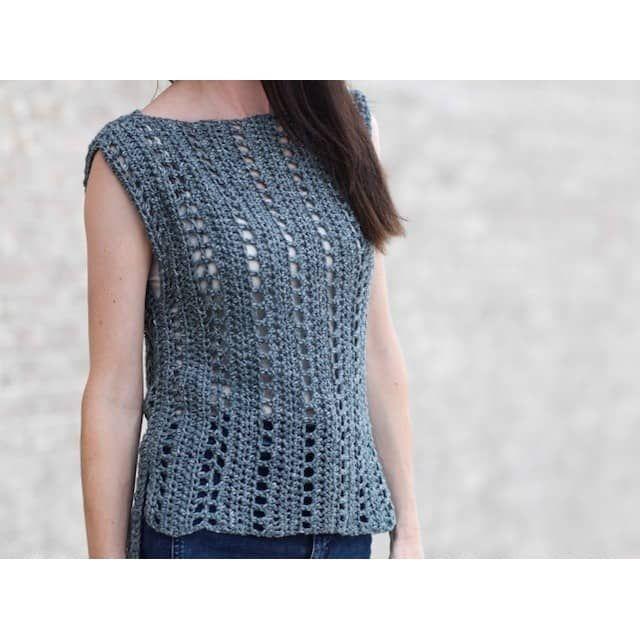 Crochet Kit Vintage Jeans Summer Top Crochet Obsession