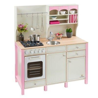 Kinderküche aus Holz SALVIA creme-rosa MUSTERKIND® in 2019 ...