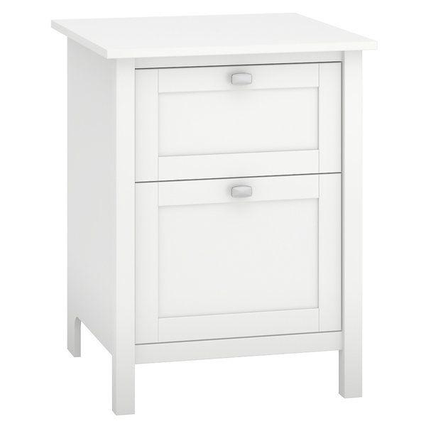Wallen 2 Drawer Vertical Filing Cabinet Filing Cabinet Bush Furniture 2 Drawer File Cabinet