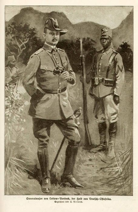 General Von Lettow Vorbeck German History German East Africa