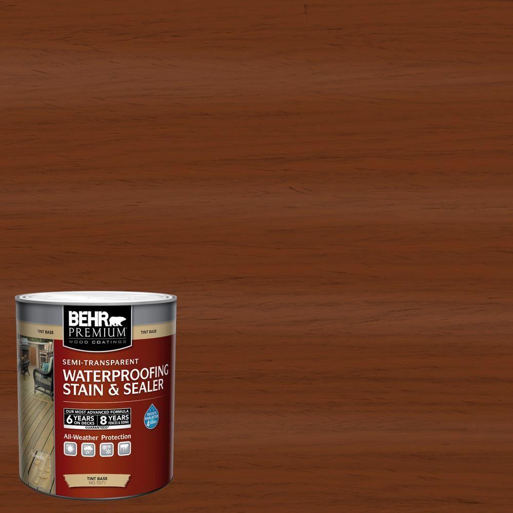 Behr Premium 1 Qt St 130 California Rustic Semi Transparent