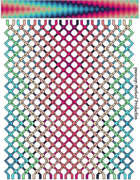 Pin von Anaclara Moreno auf brazaletes | Pinterest | Knüpfen ...