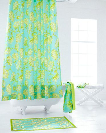 Lilly Pulitzer Sister Florals Shower Curtain Garnet Hill