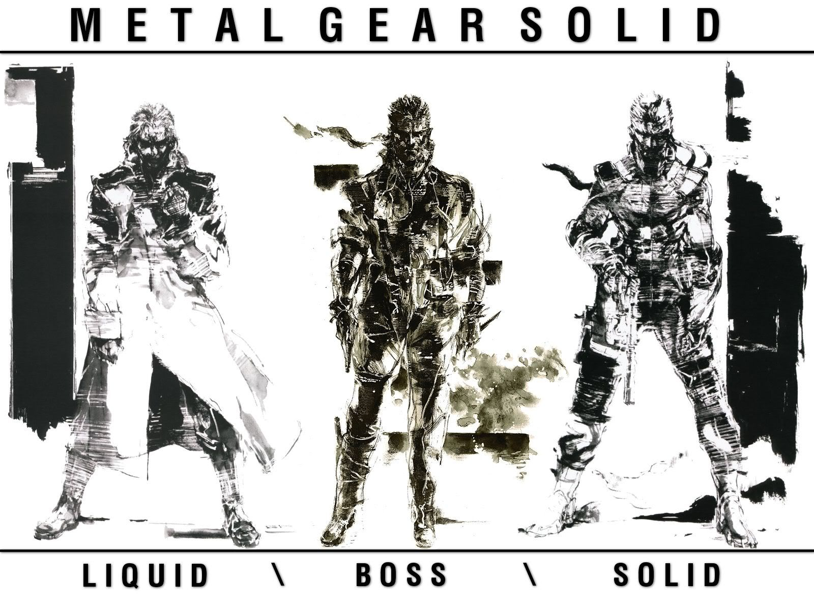Metal Gear Solid Wallpaper 新川 日本