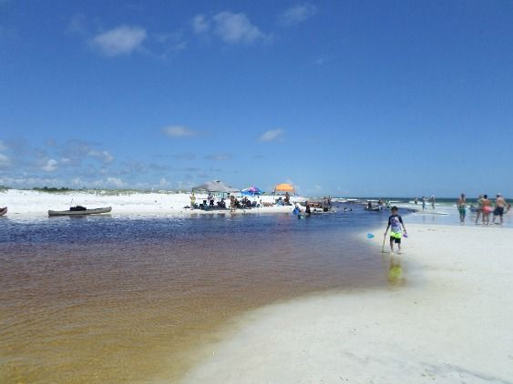 Best Family Beach Vacations Are Found Along 30a In The Florida Panhandle Grayton Offered A Quiet Inlet And Channel For Swimming On Double Red Flag