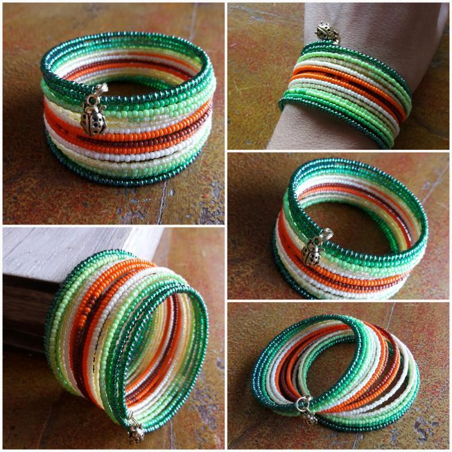 Memory wire bracelet                                                                                                                                                                                 More