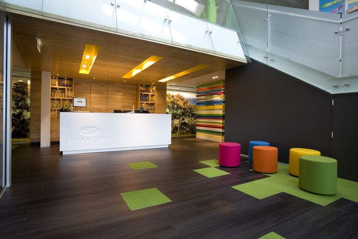 Office tour frucor beverages offices auckland office fit outoffice receptionreception designinterior officecorporate
