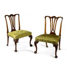 PAIR OF SIDE CHAIRS  English, circa 1750 http://www.mackinnonfineart.com/fine-furniture/d/pair-of-side-chairs/129851