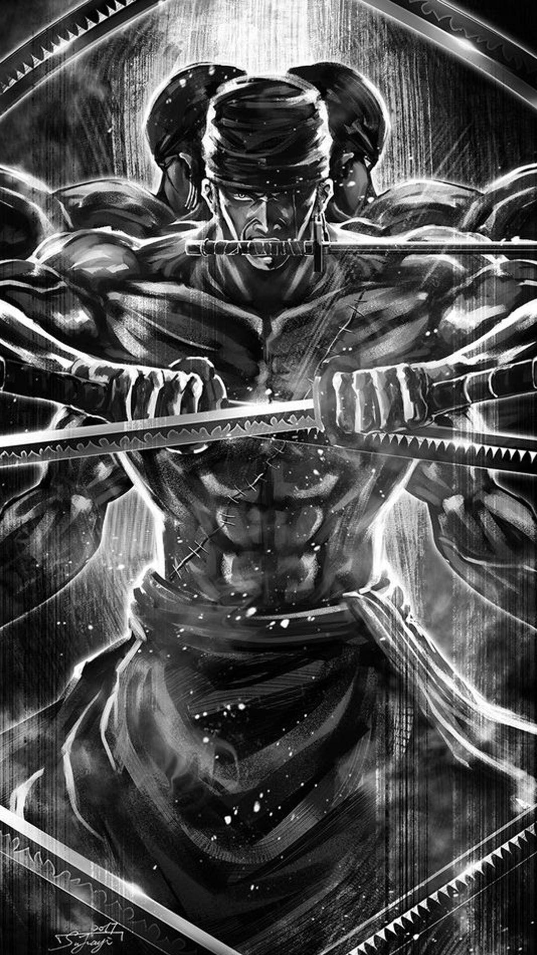 Roronoa Zoro Wallpaper 56 Gambar Manga Gambar Gambar Anime