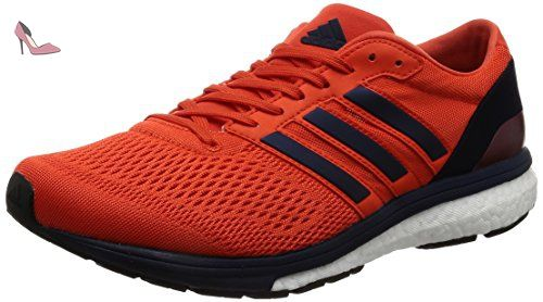 detailed look d0c05 e5a1c adidas ADIZE BOSTON 6 CHAUSSURES, Orange, 42 23 - Chaussures adidas (