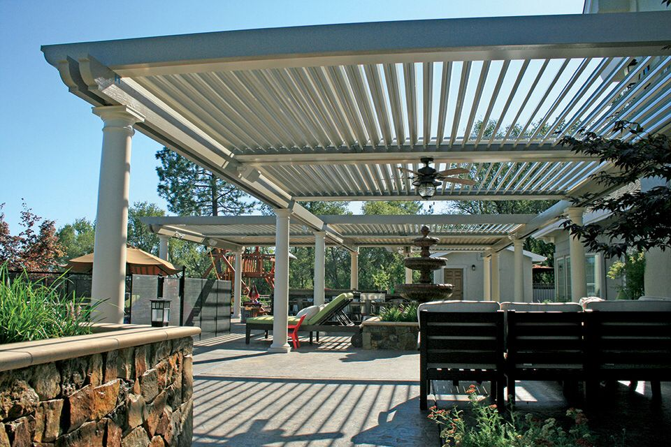 Beautiful Multi Bay Patio Cover Lattice Patio Pergola Patio