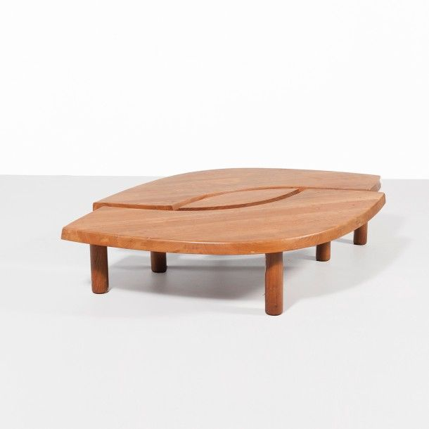 Pierre Chapo France Table Basse Oeil Modele T 22 C Orme Massif Ateli Table Basse Mobilier De Salon Pierre Chapo