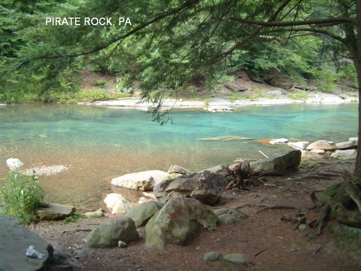 Swimming Holes And Hot Springs