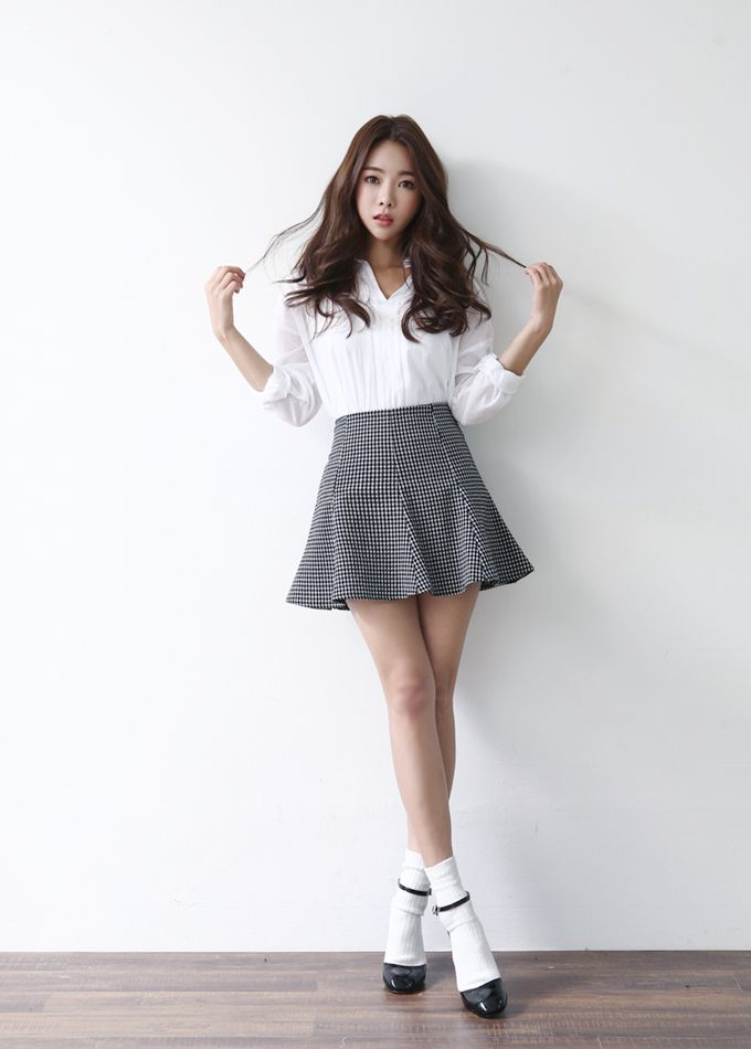 korean fashion , ulzzang , ulzzang fashion , cute girl , cute outfit ,  seoul\u2026