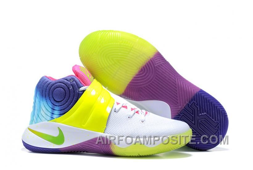 4d2ebbfe9f7 Find Super Deals Nike Kyrie 2 Sneakers Yellow Rainbow online or in  Footseek. Shop Top Brands and the latest styles Super Deals Nike Kyrie 2  Sneakers Yellow ...