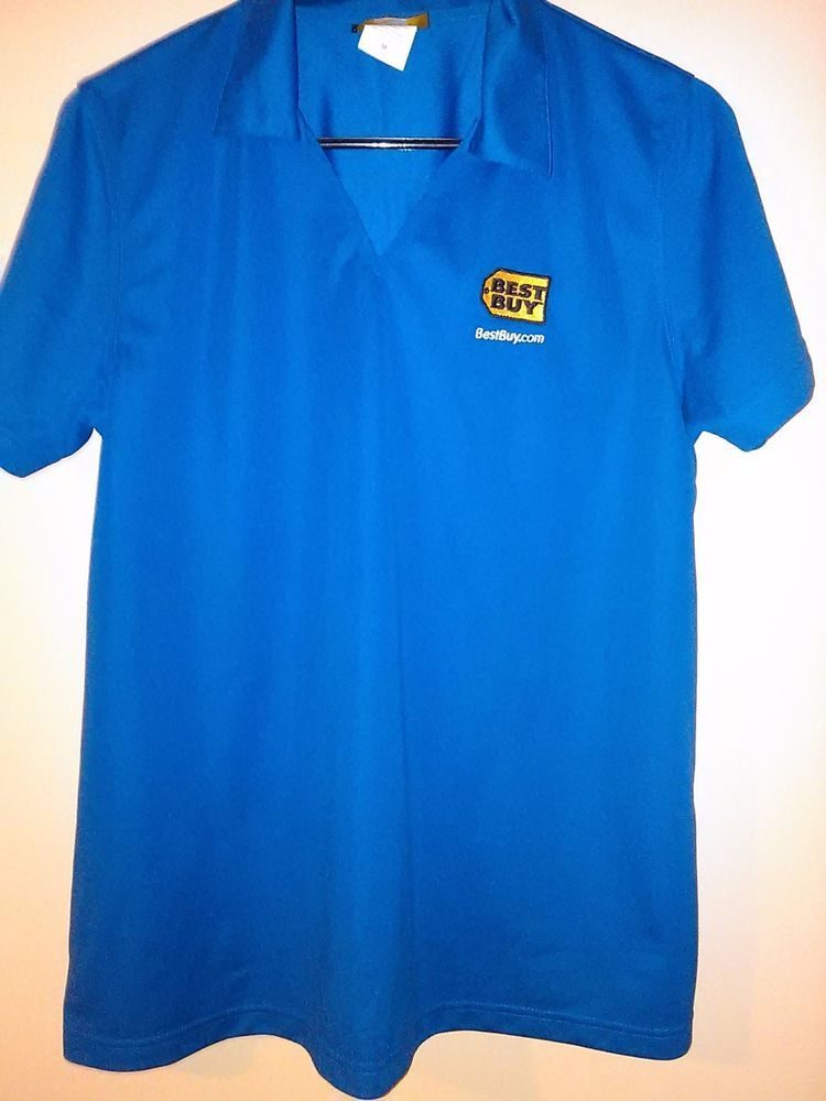Womens maternity shirt best buy employee top medium m for Womens work shirts uniforms