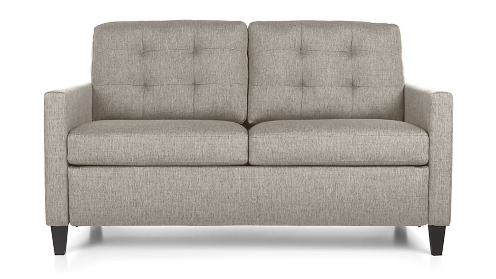 Karnes Full Sleeper Sofa Nickel Crate And Barrel Home Things