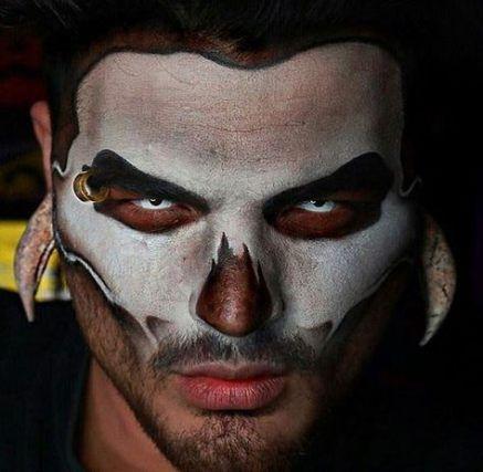 Maquillaje halloween terror terrorífico 46 Ideas